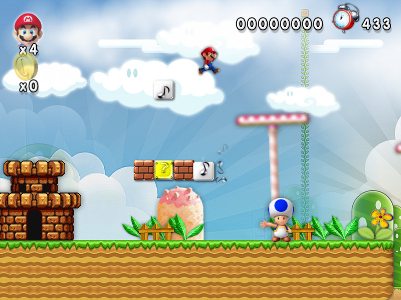 New Super Mario Forever 2012 Best Free PC games