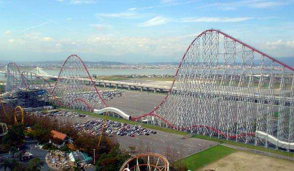 Steel Dragon 2000 Roller Coaster