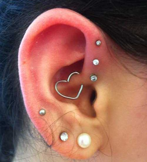Top 10 Types of Ear Piercing