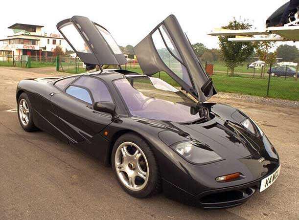 McLaren F1 Fastest Sports Cars