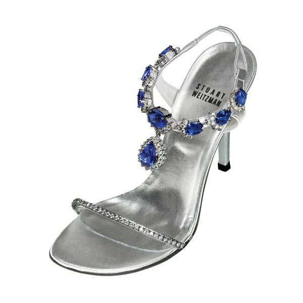 Tanzanite heels