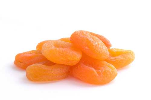 dried apricot high in calcium