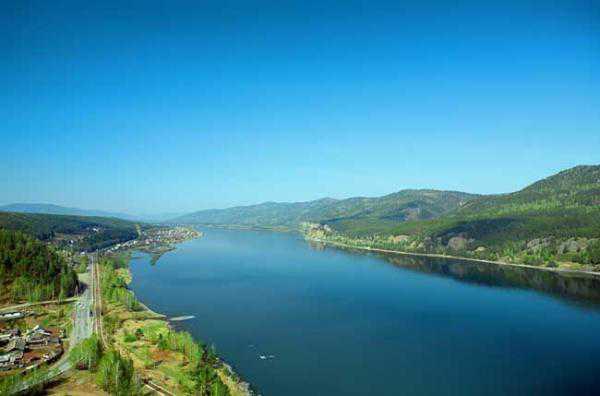 yenise river