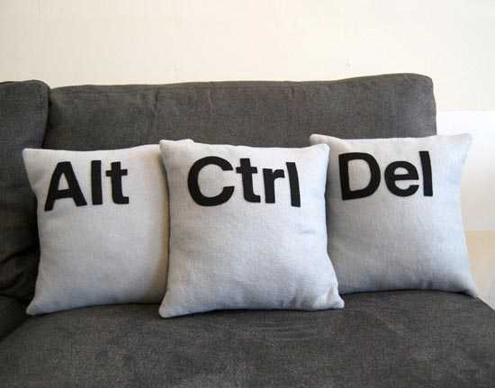 Alt ctrl del Pillows