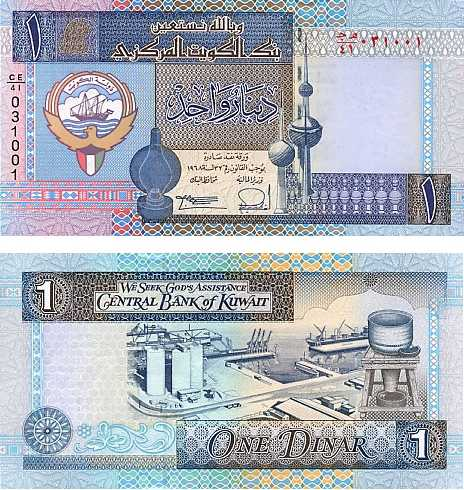 Kuwaiti Dinar - Strongest Currencies in the World