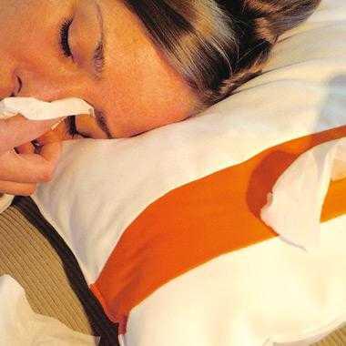 Tissue dispensing pillow