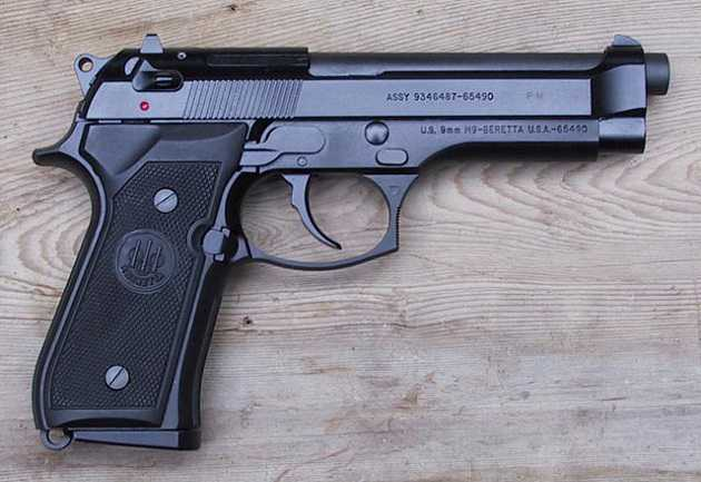 Beretta 92FS M9 - Best 9MM Pistols