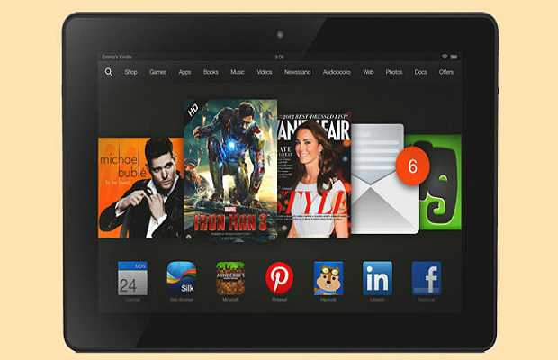 Kindle Fire HDX 8.9 - Top 10 Android Tablets in 2014