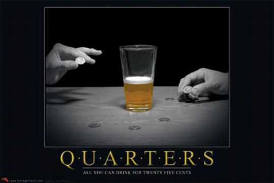 Quarters - Best Drinking Games