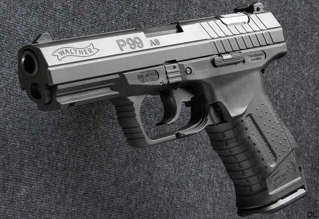 Walther P99 AS-610 - Best 9MM Pistols
