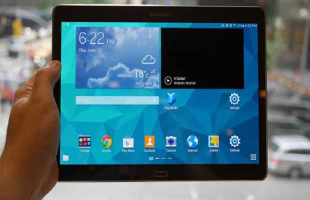 Samsung Galaxy Tab S 10.5 - Top 10 Android Tablets in 2014