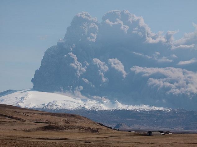 Eyjafjallajokull - Top 10 most dangerous volcanoes