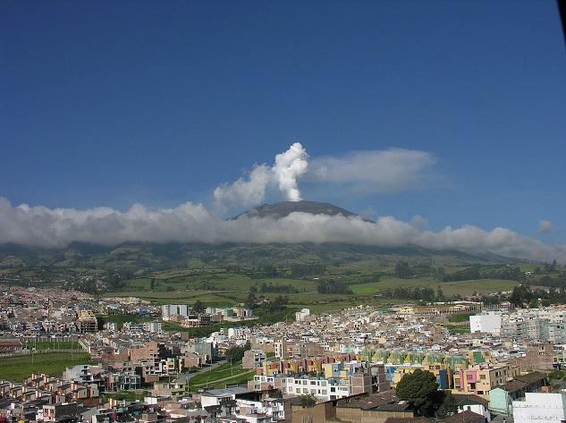 Galeras - Top 10 most dangerous volcanoes
