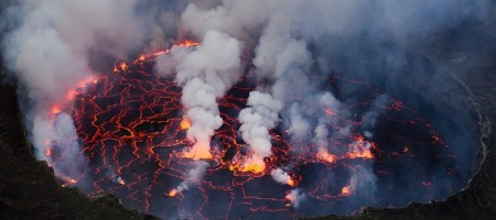 Mount Nyiragongo - Top 10 most dangerous volcanoes