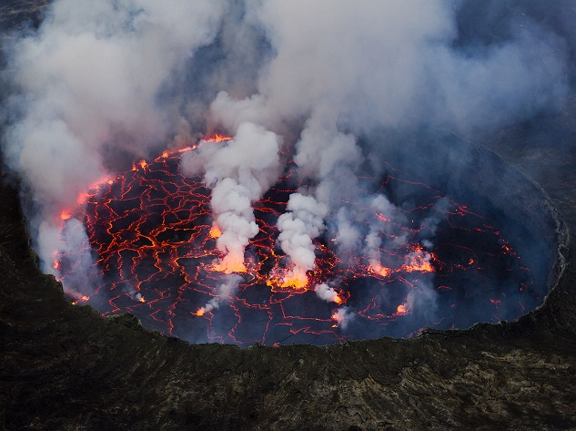 Mount Nyiragongo - Top 10 most dangerous volcanoes