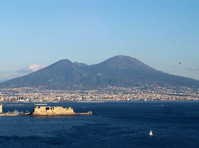 Mount Vesuvius - Top 10 most dangerous volcanoes