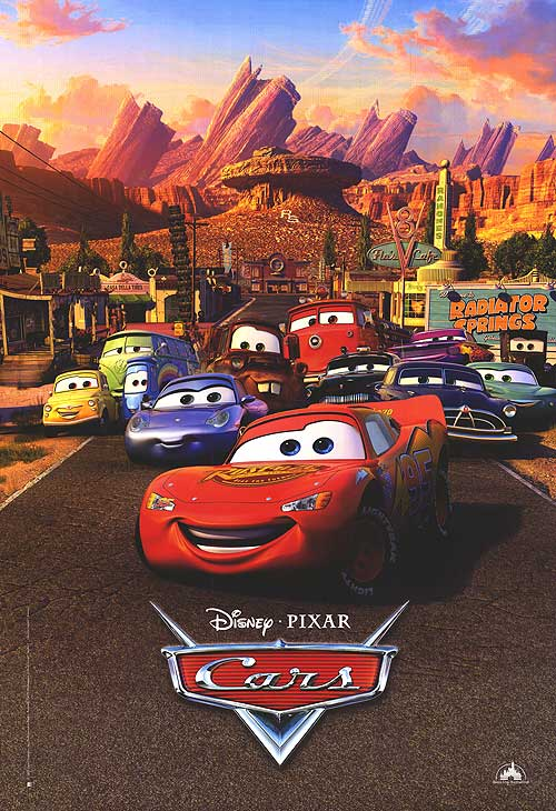Best Animated movies- Cars