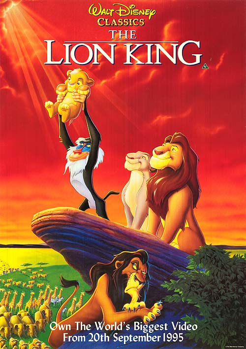 Best Animated movies- The Lion King