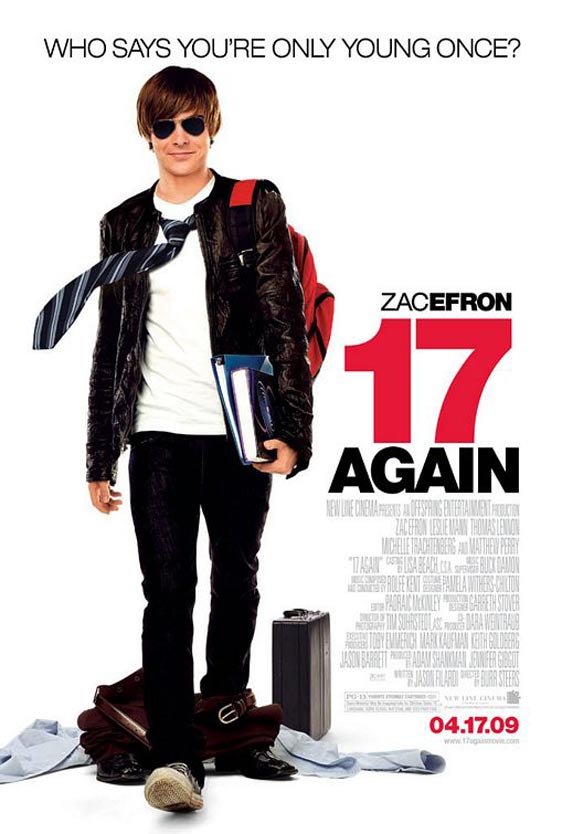 Top Comedy Movies- 17 Again