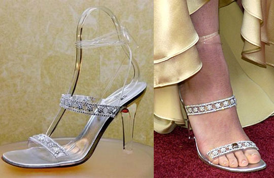 Most Expensive Shoes-  Stuart Weitzman Cinderella Slippers