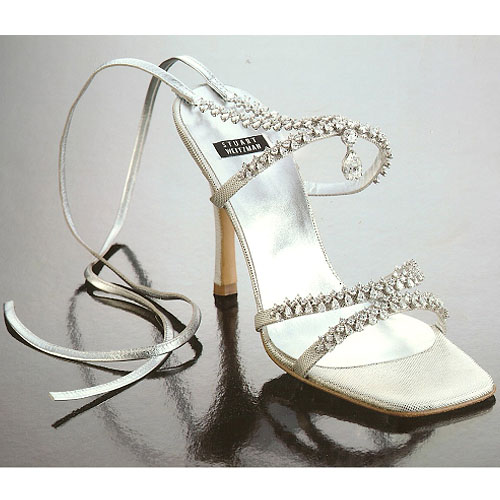 Most Expensive Shoes- Stuart Weitzman Platinum Guild Stilettos