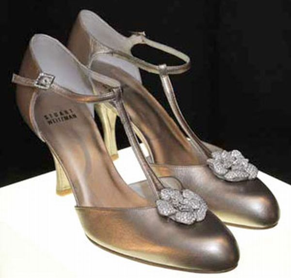 Most Expensive Shoes- Stuart Weitzman Retro Rose Pumps