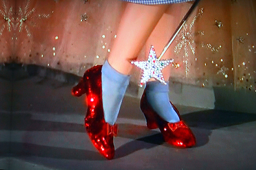 Most Expensive Shoes- Original 'Wizard of Oz' Ruby Slippers