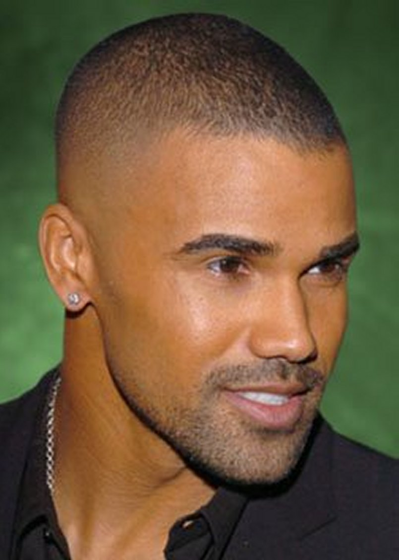 Shemar Black Fade Haircut Styles for Men