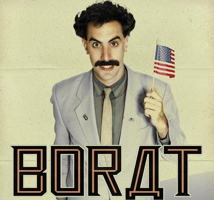 Top Comedy Movies- Borat