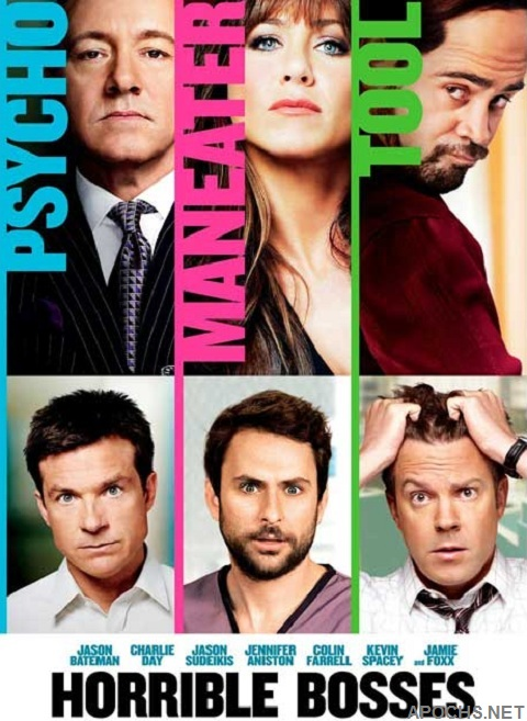 Top Comedy Movies- Horrible Bosses
