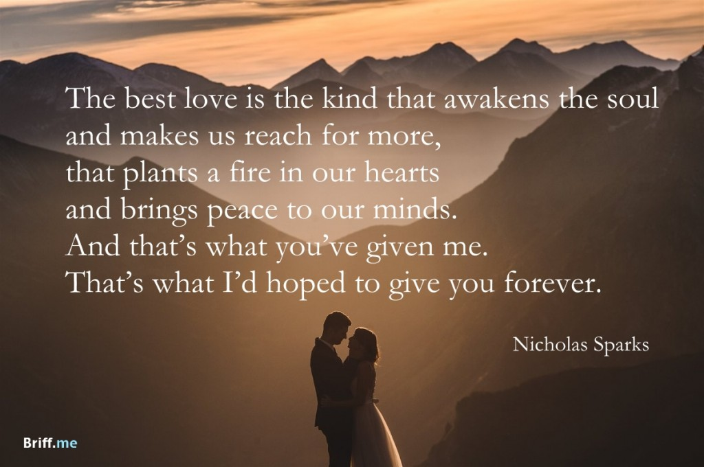 5 Famous Quotes About Love : 25 Beautiful Love Quotes OhTopTen