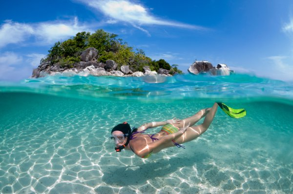 enjoy under water diving at Koh Samui Islands