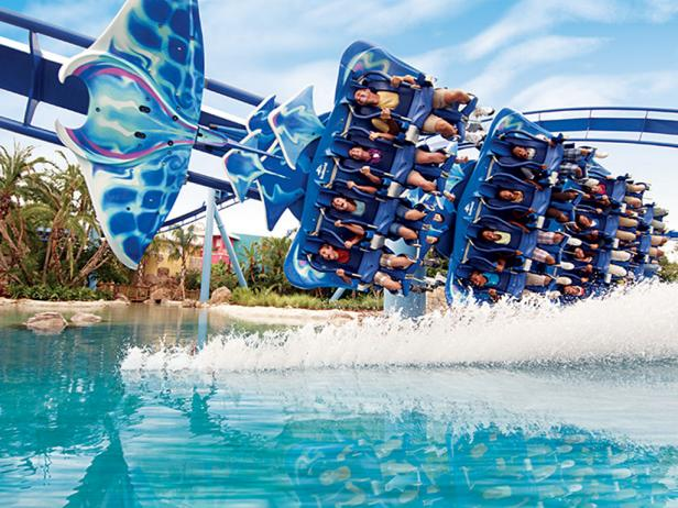 adventure in theme parks in Florida