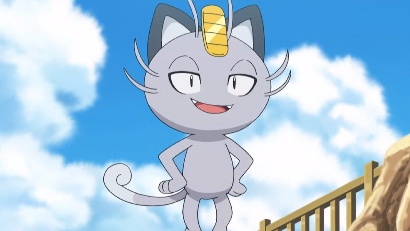 Alolan Meowth Cat Pokemon