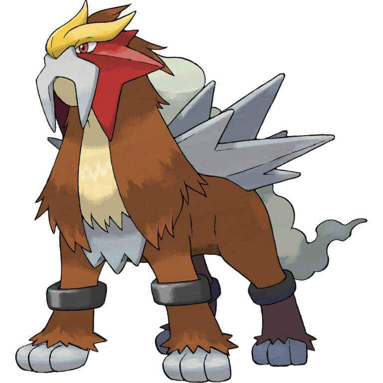 Entei Cat Pokemon