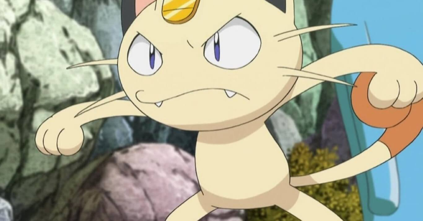 Meowth Cat Pokemon