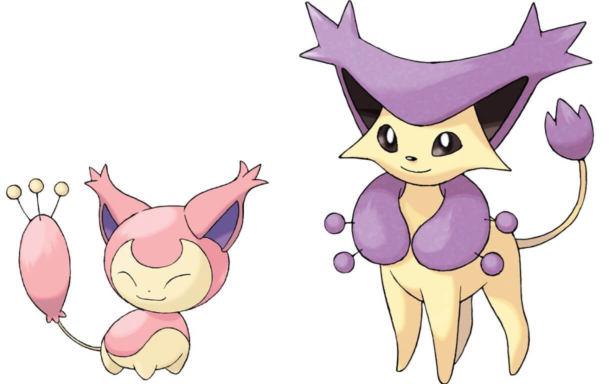 Skitty and Delcatty Cat Pokemon