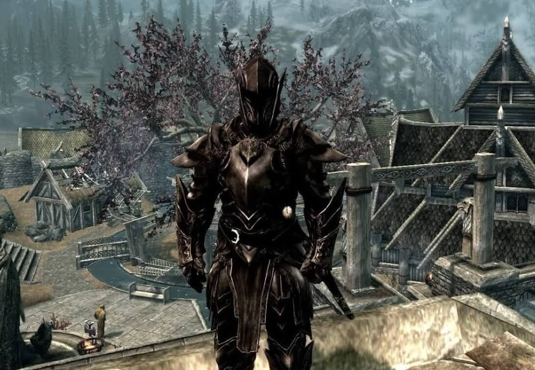 Skyrim character builds Ebony Warrior Build