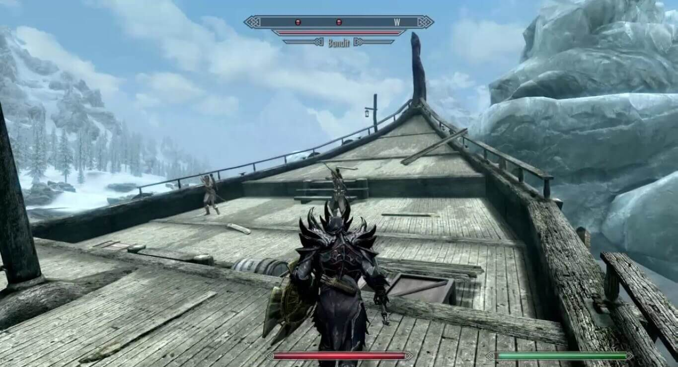 Skyrim character builds One-Handed Warrior