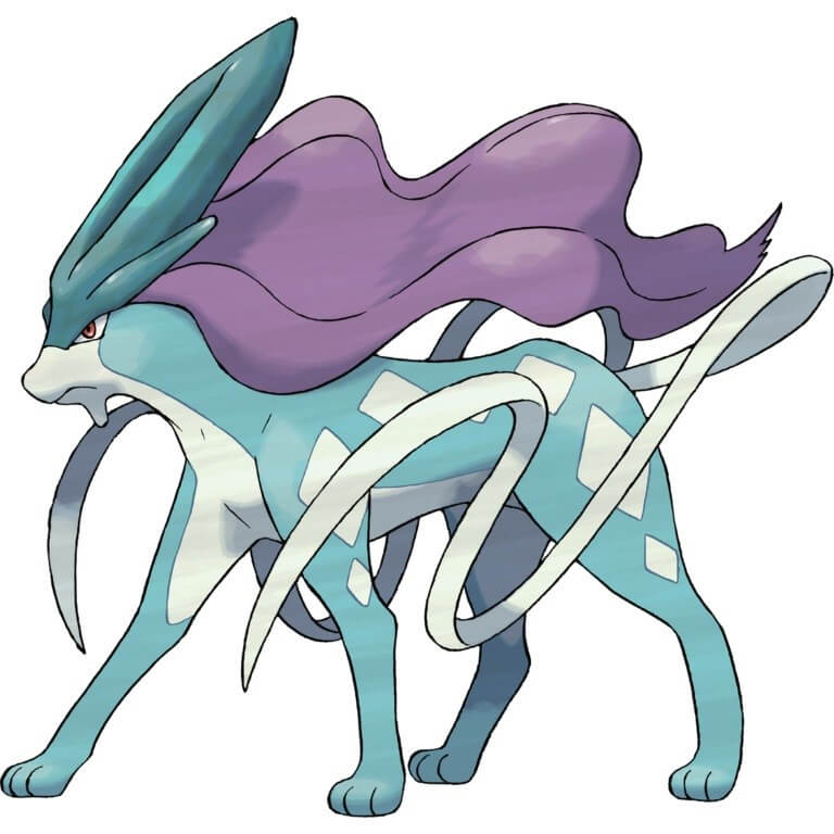 Suicune Cat Pokemon