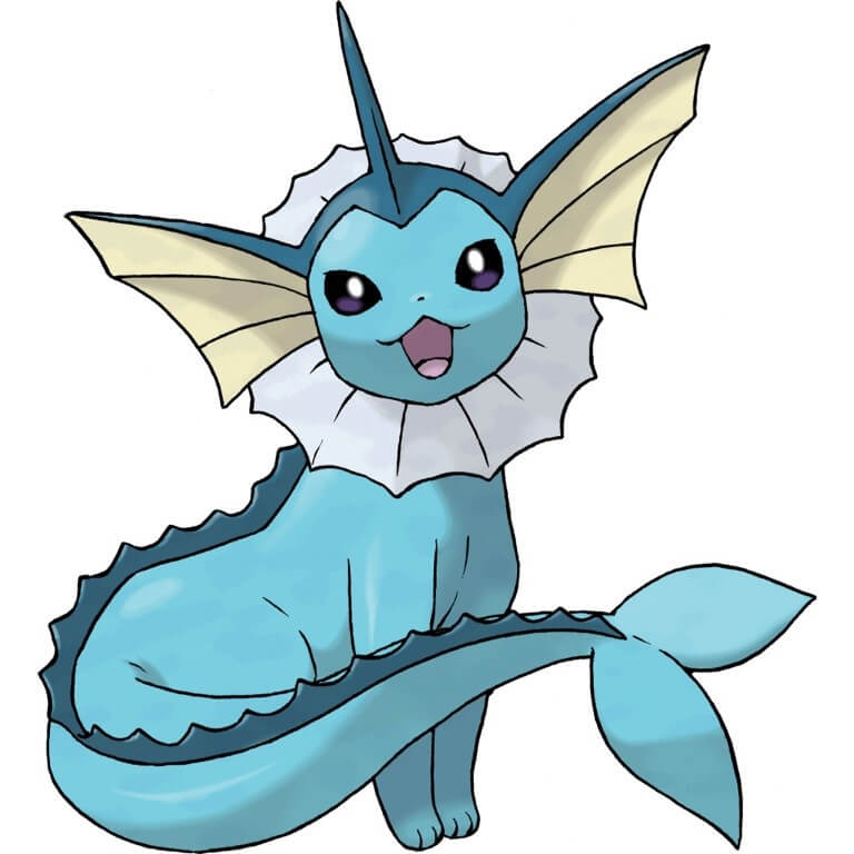 Vaporeon Cat Pokemon