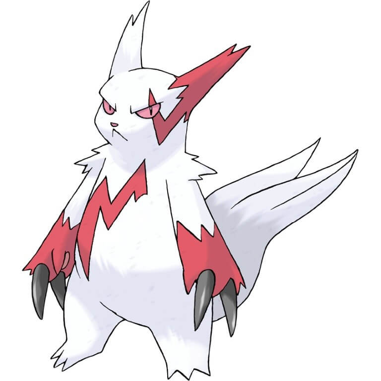 Zangoose Cat Pokemon