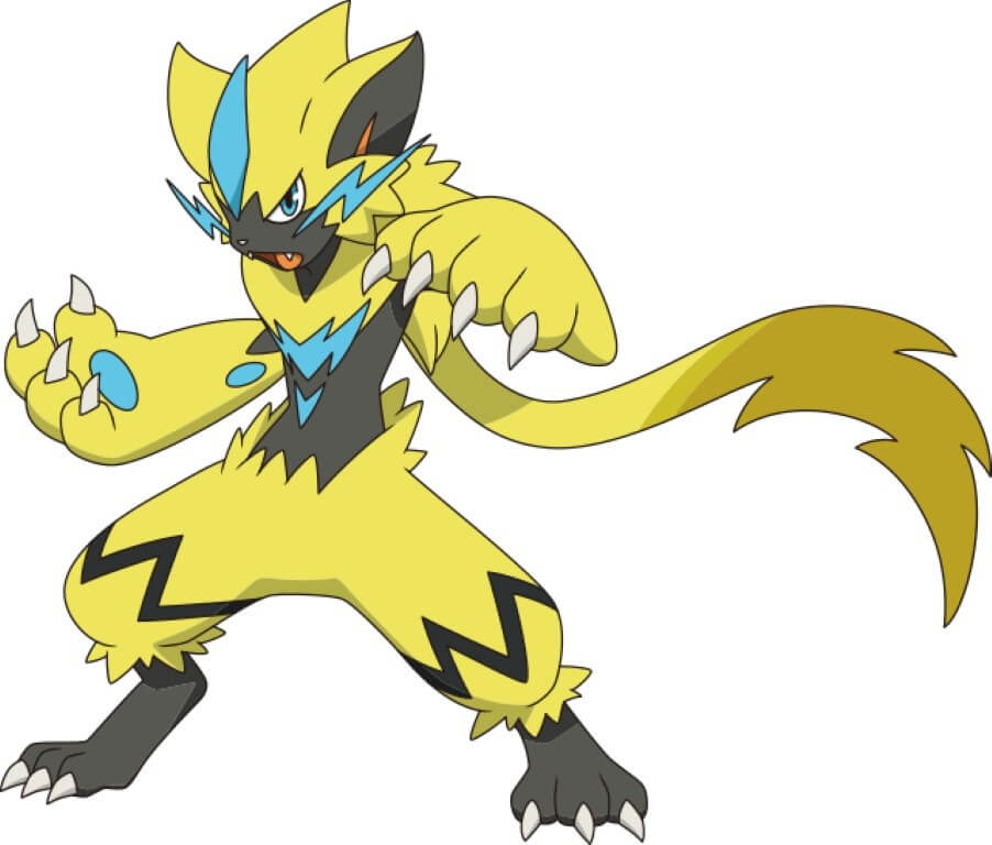 Zeraora Cat Pokemon