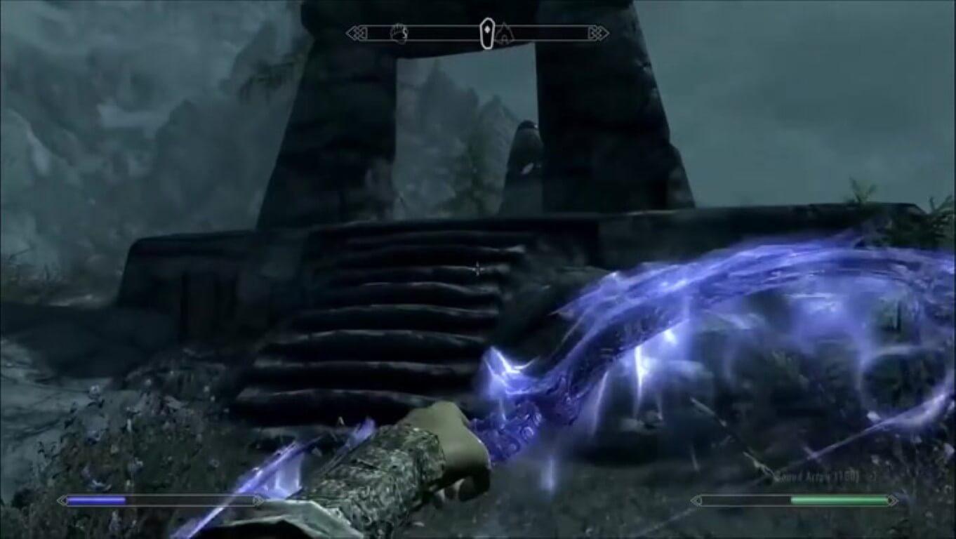 Bound Bow spell skyrim