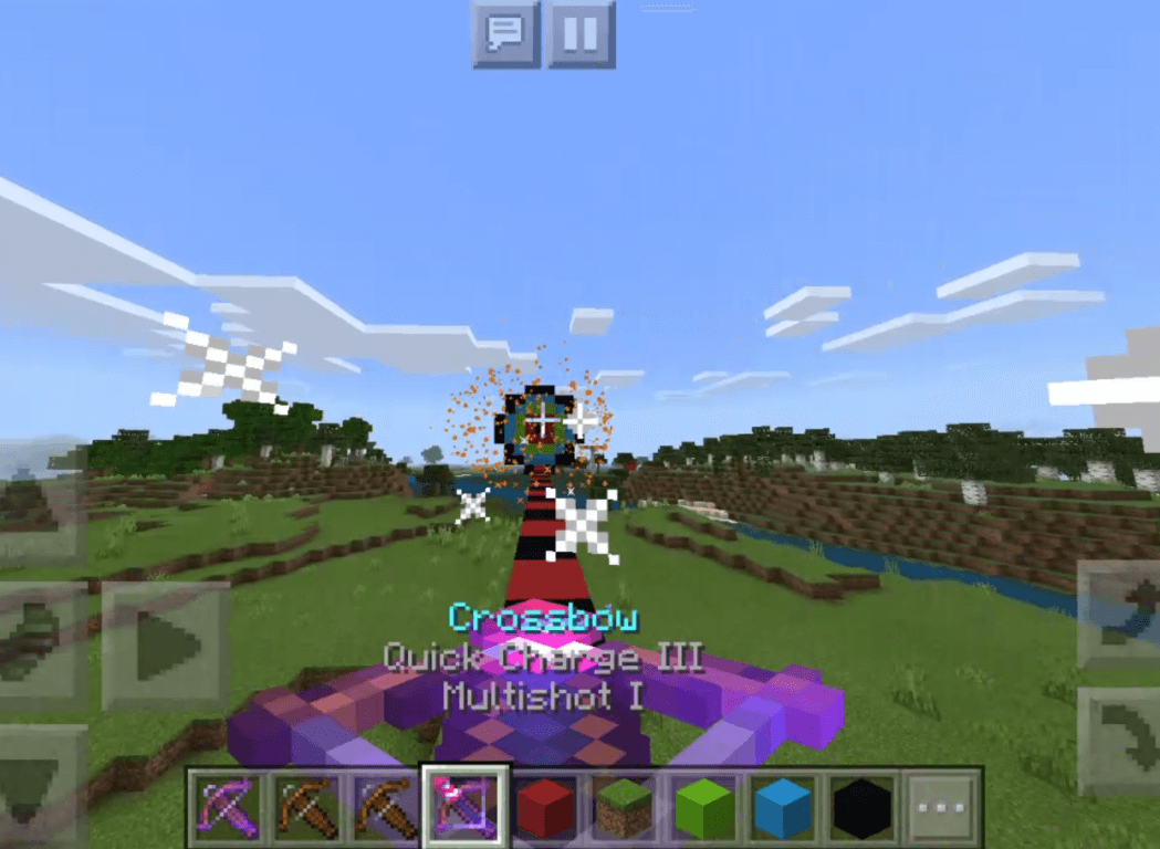 Multi Shot Crossbow Enchantments Minecraft