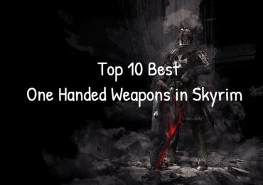 Top 10 Best One Handed Weapons in Skyrim
