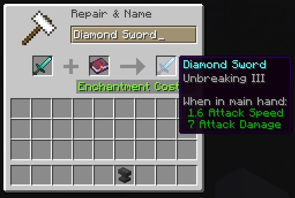 unbreaking bow enchantments minecraft