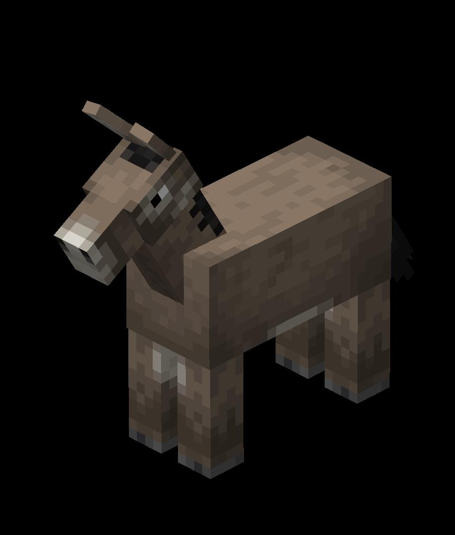 DonkeyNew Best minecraft horse