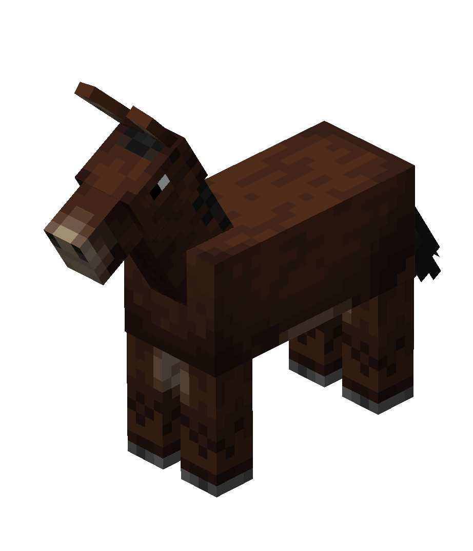 MuleNew Best minecraft horse