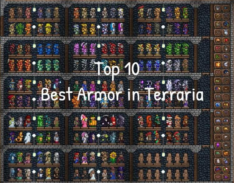 Top 10 Best Armor in Terraria